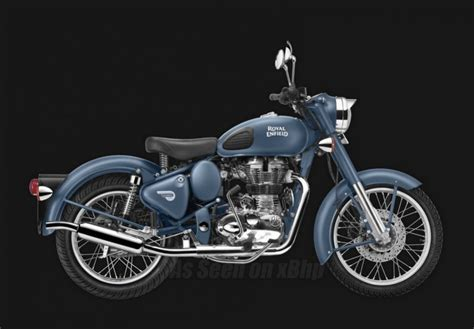 Sale Mr Color 7 royal enfield classic 500 launched in squadron blue