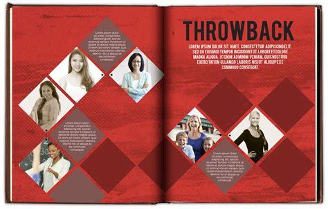 teaching yearbook layout design teacher spread ideas throwback yearbook ideas