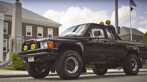 Toyota Truck Back To The Future Back To The Future Toyota Sr5 Truck Marty Mcfly