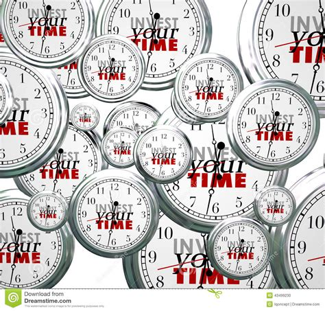 invest your time many clocks competing priorities tasks
