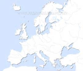 Outline Map Of Europe Physical by Map Rivers Of Europe Physical Freeworldmaps Net World Map Region