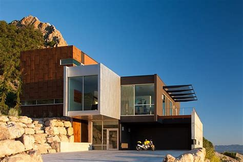 modern residence located salt lake city utah