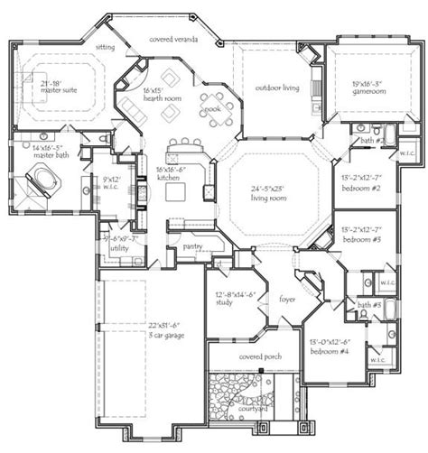house plans with room house plans