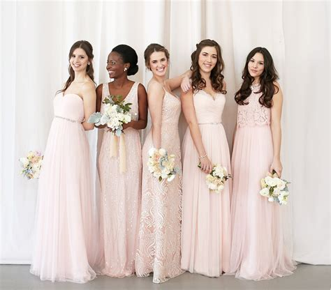 Na Mix Dress unique mix and match bridesmaid dresses bhldn