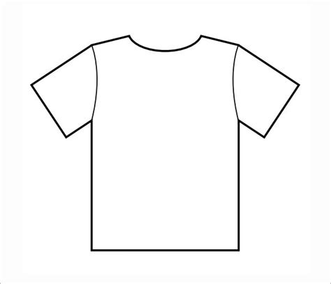 printable t shirt template pictures to pin on pinterest