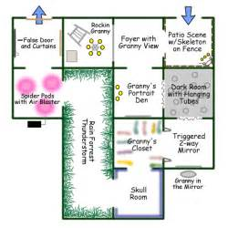 Haunted House Floor Plan by Lizzie Borden House Floor Plan Haunted House Floor Plan