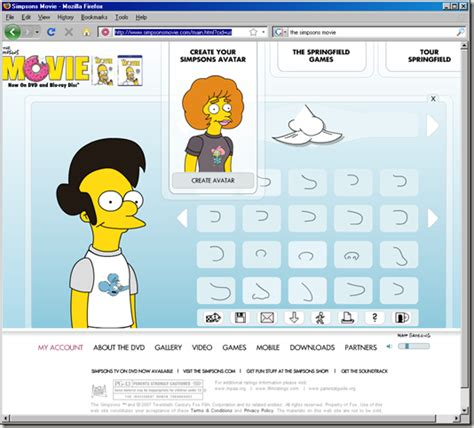 create your own character your own simpsons character images