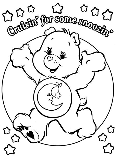 care coloring pages care bears coloring page care bears cousins