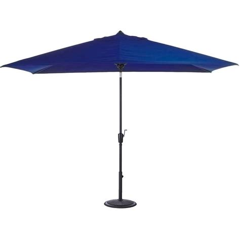Patio Umbrellas That Tilt Garden 10 Ft Aluminum Patio Umbrella With Auto Tilt In Lime Green M150064 The Home Depot