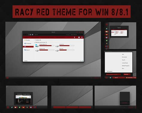 red themes for windows 8 1 racy red theme for win 8 8 1 cực chất chia sẻ kiến