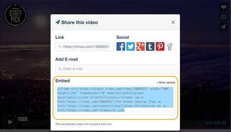 html tutorial embed video embed video from youtube vimeo and others weebly help
