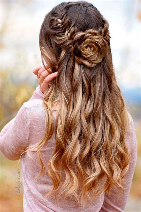 Bridesmaid Hair Half Up Curls by Half Up Half Updos Hairstyle 2013