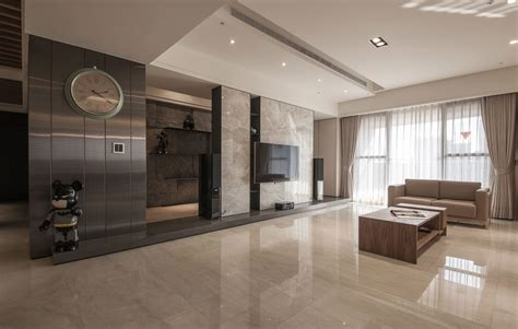 home wall design interior architecture minimalist interior design in modern residential housing marble flooring gray