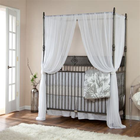 White Baby Crib With Canopy by How Amusing And Luxurious Baby Crib Canopy Ideas Kids