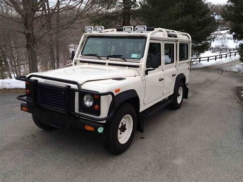 old car repair manuals 1993 land rover defender 110 head up display 1993 land rover defender 110 for sale classiccars com cc 940028