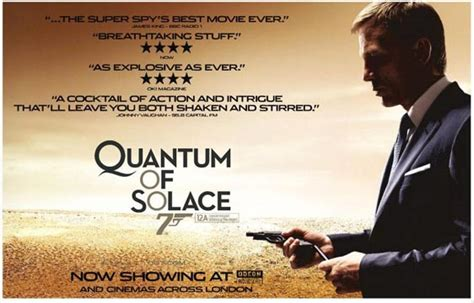 quantum of solace film trailer quantum of solace 2008 poster 1 trailer addict