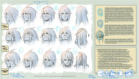 how to make doodle tutorial tutorial drawing heads by goku no baka on deviantart
