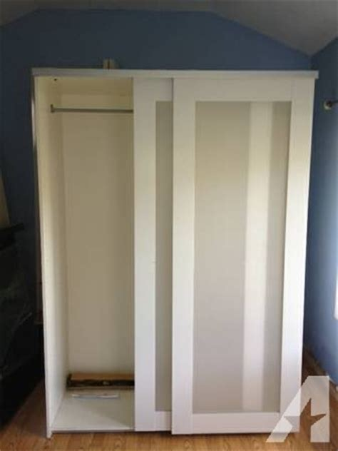 used ikea wardrobes for sale white ikea elga wardrobe for sale in redwood city