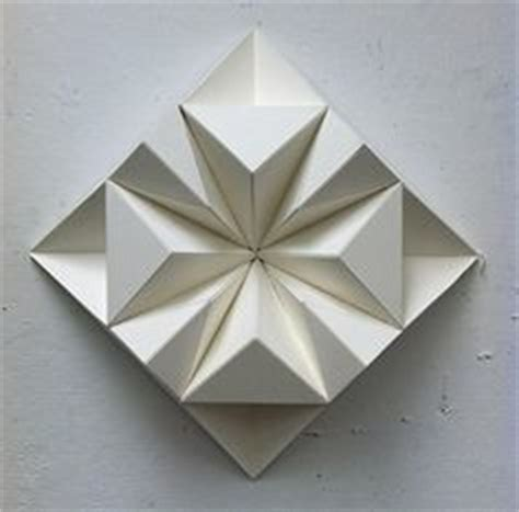 Geometric Paper Folding Patterns - 1000 images about paper objects on paper