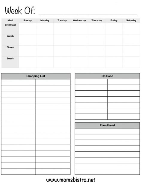 Breakfast Lunch Dinner Menu Template Best And Professional Templates Free Printable Breakfast Menu Templates