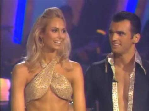 stacy keibler dwts youtube dwts stacy keibler tony dovolani cha cha week 7 youtube