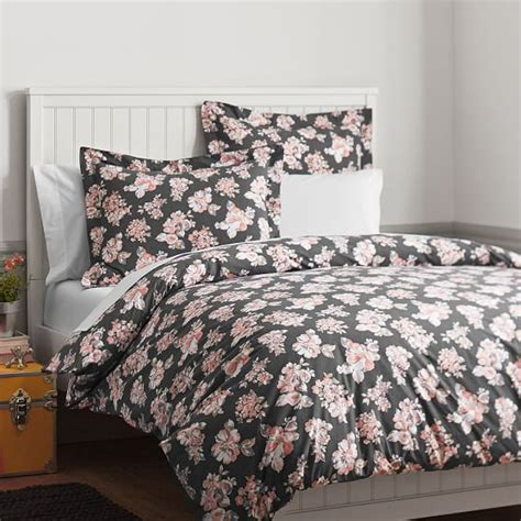 pbteen bedding bouquet duvet cover pbteen