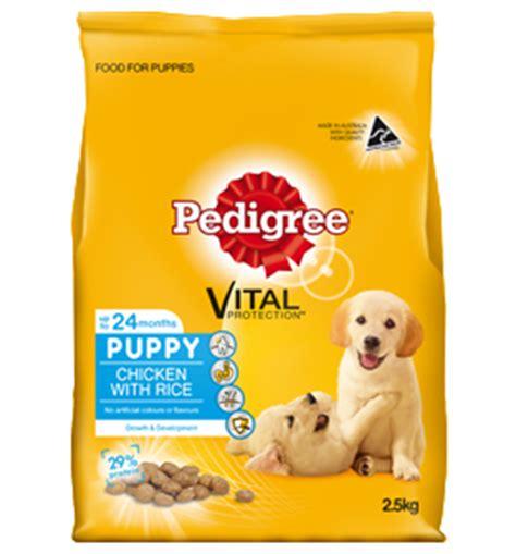 puppy food calculator chicken rice puppy food pedigree