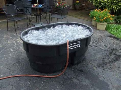 makeshift bathtub 17 diy hot tubs and swimming pools