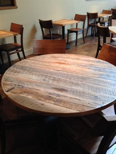 17 best images about reclaimed wood restaurant table tops