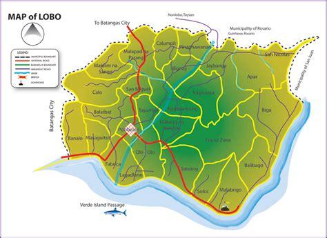 matabungkay resort map mabini batangas map