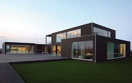 eco friendly pre fab house by bestetti associati studio