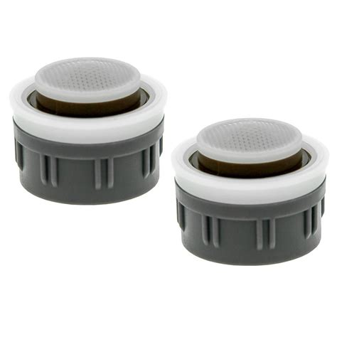 bathroom faucet aerators neoperl 0 35 gpm mikado water saving faucet aerator insert with washers 2 pack 97299