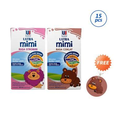 Ultra Milk Mimi Chocolate 125ml ultrajaya up to 25 blibli