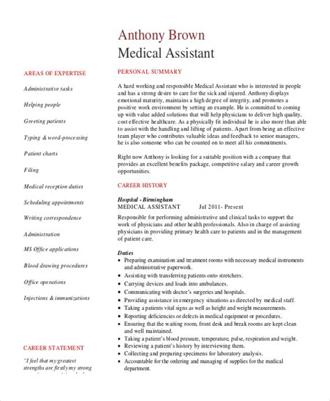 Resume Template For Assistant by Administrative Assistant Resume Template Ideasplataforma