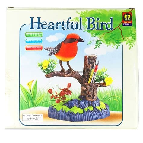 sound activated heartful bird free shipping dealextreme