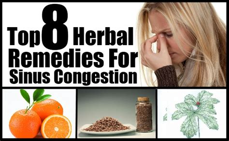 herbal cures for sinus congestion