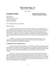 Attorney Cover Letter To Client Best Photos Of Exles Of Client Letters Lawyer Client Letter Sle Sle Client Letter