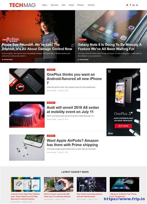 themes wordpress engineering techmag technology wordpress theme by magazine3 themes