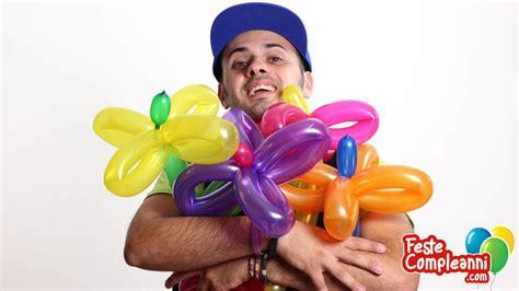 fiore palloncini fiore con i palloncini modellabili tutorial 02 feste