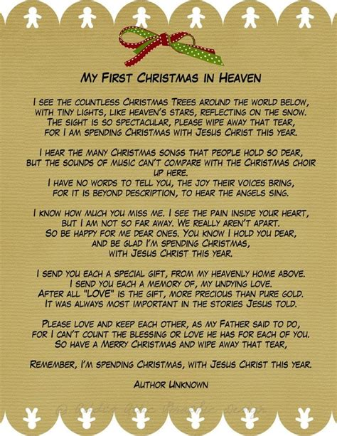 christmas with jesus this year my in heaven a phenomenal poem for those of us who lost loved ones during