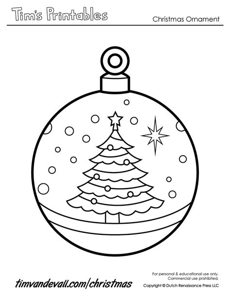 printable christmas ornaments for toddlers paper ornaments templates best template idea