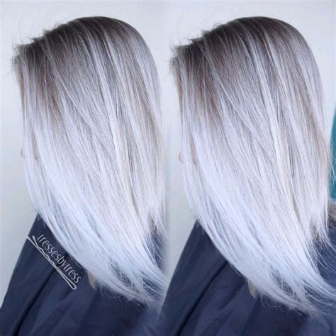platinum blonde and brown ombre 25 best ideas about white ombre hair on pinterest white