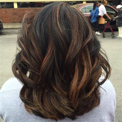 hair highlights for the spring with dark hair hair highlights for black hair for 2017 new hair color