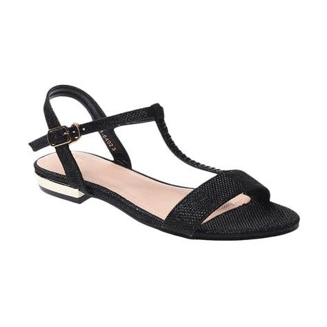 Stok Terbatas Sandal Wanita Selop Hunny Black Sepatu Sandal jual bata sarai 5616402 sandal wanita black harga kualitas terjamin blibli
