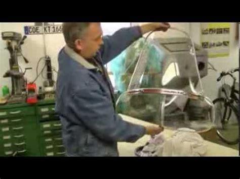 Windschutzscheibe Selber Polieren by Ideal Windschild Alurahmen Polieren Und Richten Youtube