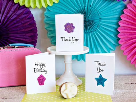 how to make birthday cards at home how to use a potato to make greeting cards how tos diy