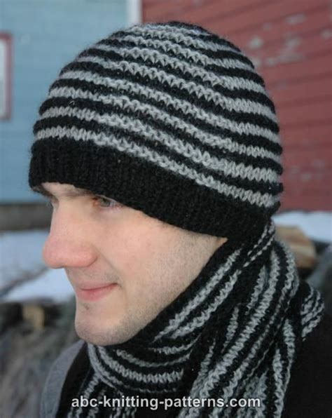 mens knit hat pattern knitting patterns s hat free patterns