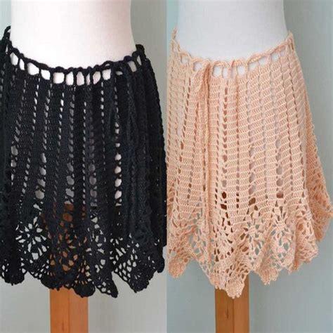 pattern crochet skirt we ll be right back