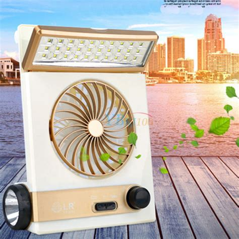 Solar Powered Hello Caicai 2 solar power ac rechargeable cing cool fan cooling led lantern for