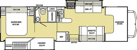 coachmen class c motorhome floor plans 2012 coachmen freelander 32bh class c jordan mn noble rv